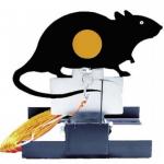 Alvo abatível rato