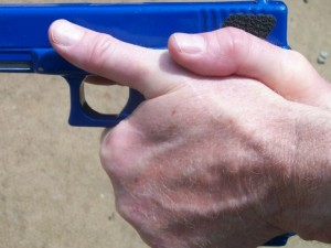 Grip shooting position