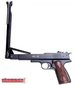 Pistola Weihrauch HW45 Black Star