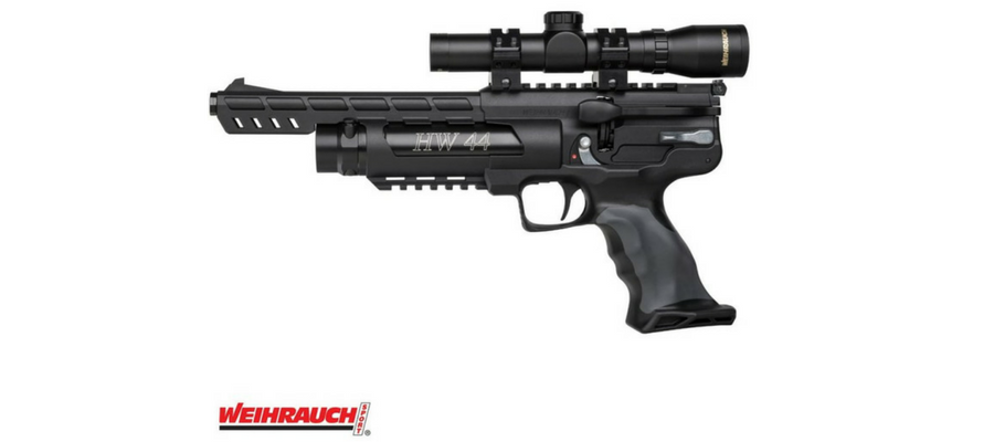 Descubra uma arma sem igual: Pistola PCP WEIHRAUCH HW44