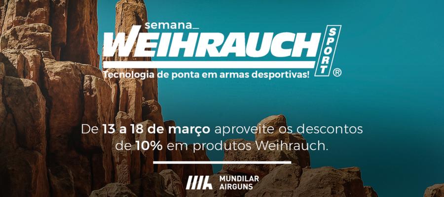 5 Carabinas Weihrauch com promoções até 10% – Semana Weihrauch