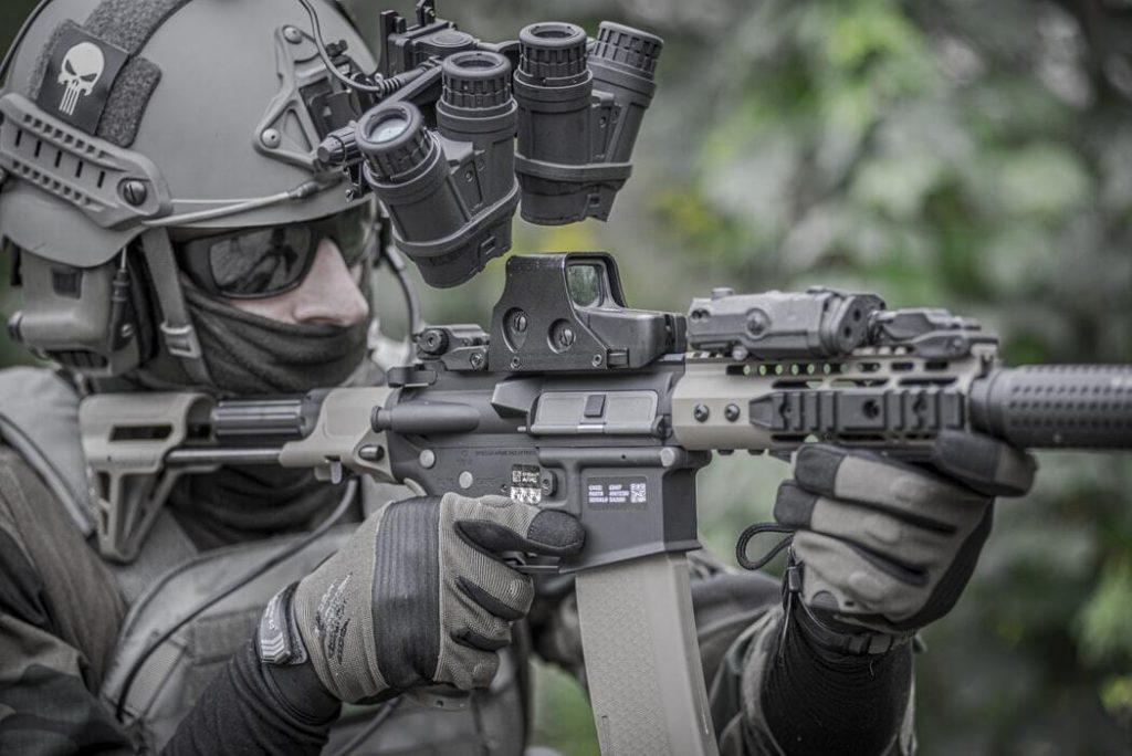 Carabina PCP é uma arma com muita precisão e potência