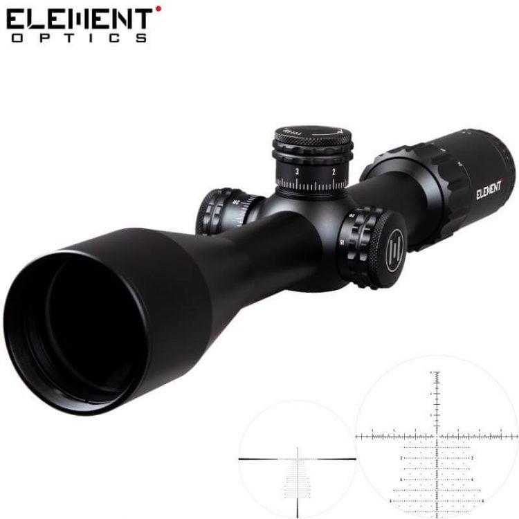 Conheça a fantástica mira telescópica Element Optics Helix 6-20×50 FFP!